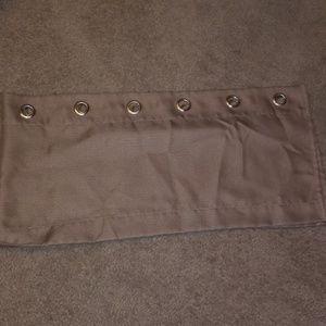 Accessories - Dark Cream curtains